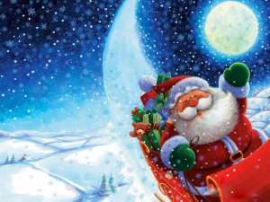 Подарок от Деда Мороза с участием Почты России