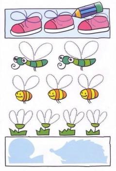 Развивающие занятия для девочки 4 года