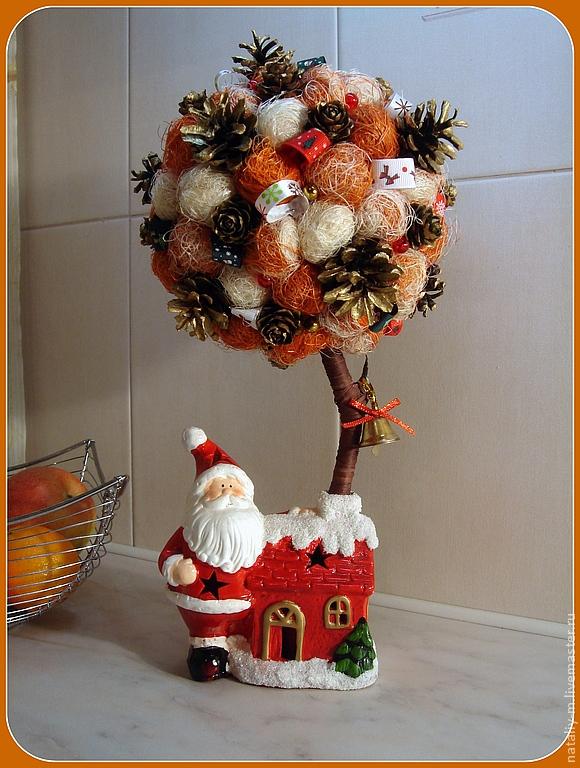 Новогоднее дерево счастья своими руками мастер класс