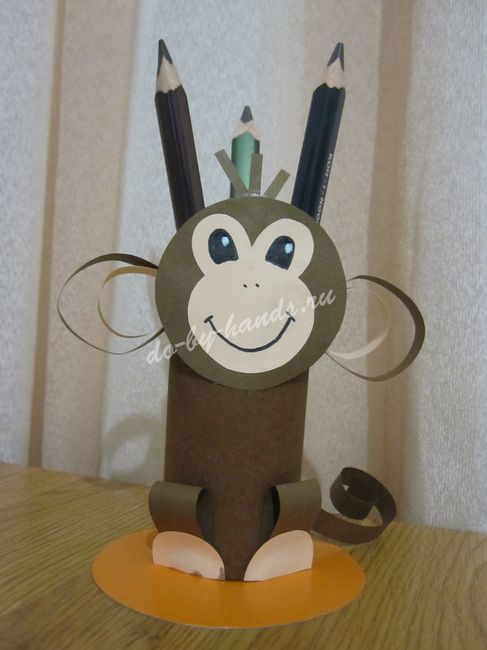 Поделка обезьянка своими руками фото