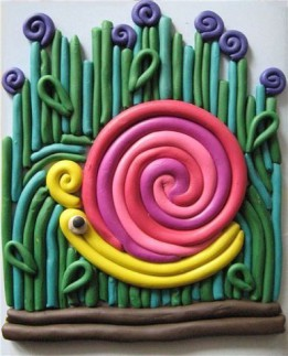 Поделки из пластилиновых спиралек