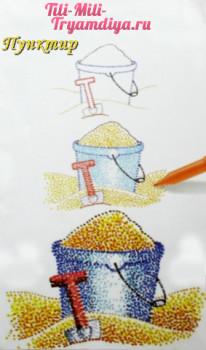 Необычные техники рисования