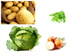 Развивающее занятие овощи