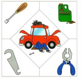 Карточки профессии для детей